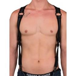 665 Neoprene Heckler Harness Black/Black (T5171)