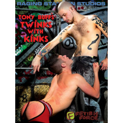 Tony Buffs Twinks with Kinks DVD (Raging Stallion) (09673D)