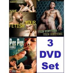 Lucas Entertainment Piss Pack 2 3-DVD-Set (10273D)