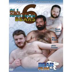 All Amateur Bears #6 DVD (BearFilms) (12853D)