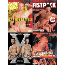 Raging Stallion 4 4-DVD-Pack