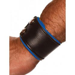 Colt Leather Wrist Wallet Blue