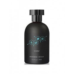 Lure Black Label For Him, Pheromone Personal Scent, 2.5 fl oz (74 ml) Bottle