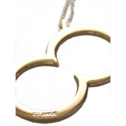 2Eros Gold Icon Necklace / Anhänger mit Kette (T1200)
