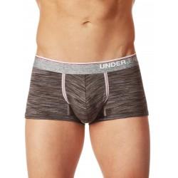 Junk Underjeans UJ Crux Trunk Underwear Charcoal