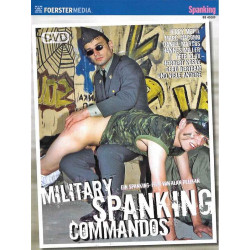 Military Spanking Commandos DVD (Foerster Media) (15611D)