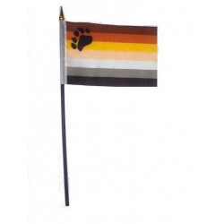 Bear Hand Flag / Handflagge
