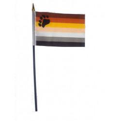 Bear Pride Hand Flag (T1572)