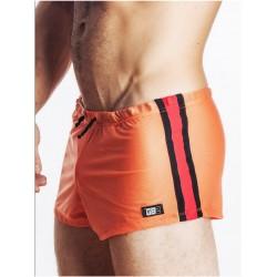 GB2 Jens Athletic Mesh Shorts Orange/Red
