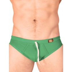 GBGB Ron Swim Brief Swimwear Green (T2610)