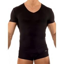 Olaf Benz V-Neck Low RED0965 T-Shirt Black