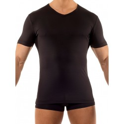 Olaf Benz V-Neck Regular T-Shirt RED1203 Black (T2762)