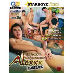 Everybody Gangbangs Alexxx Bareback DVD (OTB) (16335D)