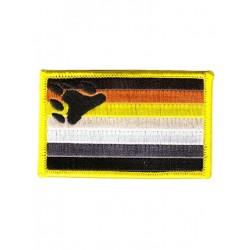 Bear Pride Patch/Aufnäher 5,5 x 8 cm (2 x 3 inch) (T2806)