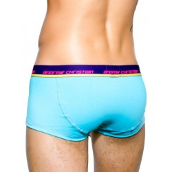 Andrew Christian CoolFlex Boxer Underwear w/ Show-It Tech. Aqua (T2967)