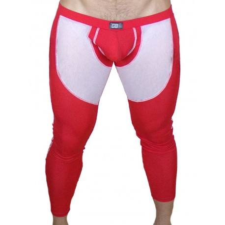 GBGB Bolt Leggings Red (T3003)