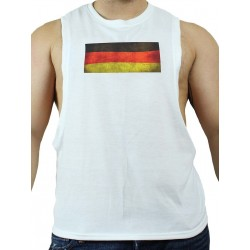GB2 C Muscle Germany T-Shirt White (T3007)