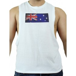 GB2 C Muscle Australia T-Shirt White (T3009)