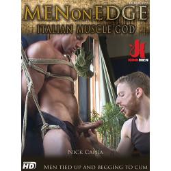 Italian Muscle God DVD (Men On Edge) (16464D)