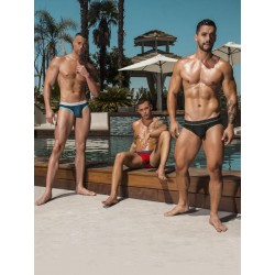 Andrew Christian Almost Naked Cotton Brief 3-Pack Underwear Multi (T5507)