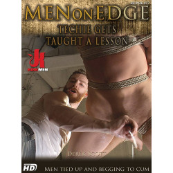 Techie Gets Taught A Lesson DVD (Men On Edge) (16469D)
