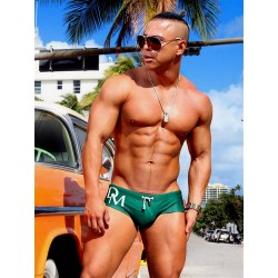Danny Miami Olympia Trunk Swimwear Green