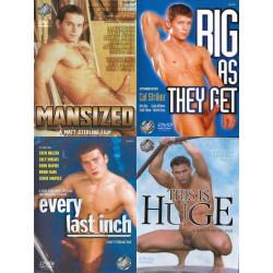 Matt Sterling Size Matters 4-DVD-Set (Matt Sterling Films) (16602D)