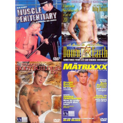 Big Blue Straight Guys Fucking 4-DVD-Set
