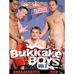 Bukkake Boys #2 DVD (Edward James) (16630D)