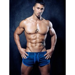 2Eros Icon Shorts Dark Navy/Blue (Zyzz Shorts) (T3116)