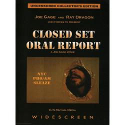 Closed Set Oral Report DVD (Joe Gage) (16525D)