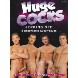 Huge Cocks Jerking Off DVD (Foerster Media) (15564D)