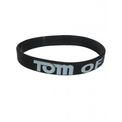 Tom of Finland Bracelet Silicone Black