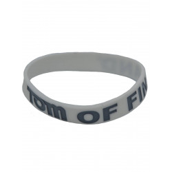 Tom of Finland Bracelet Silicone White (T5841)