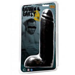 Down & Dirty 9 inch / 23 cm Dong Black (T2077)
