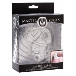 Master Series Annex Super Stretchy Erection Enhancer Clear