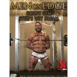 Horny Gym Stud`s Wet Dream DVD (Men On Edge) (16776D)