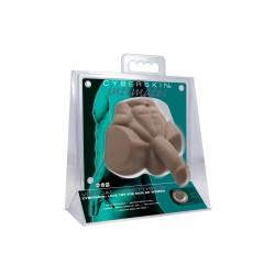 CyberSkin® Intimates, Virtual Heartthrob, Dark (T0879)