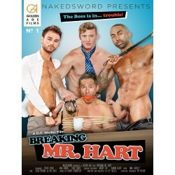 Breaking Mr. Hart DVD (Naked Sword) (16919D)
