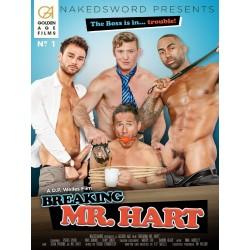 Breaking Mr. Hart DVD (Naked Sword) (16919D)