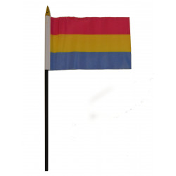 Pansexual Hand Flag / Handflagge (T5854)