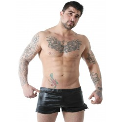 GBGB Wade Shiny Short Metallic Black (T6079)