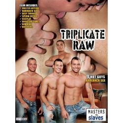 Triplicate Raw DVD (Masters VS Slaves) (16862D)