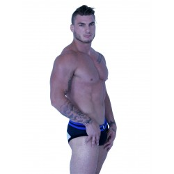 GB2 Gavin Brief Underwear Black/White/Royal