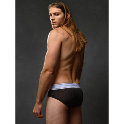 2Eros Core Series 2 Brief Underwear Charcoal (T6130)