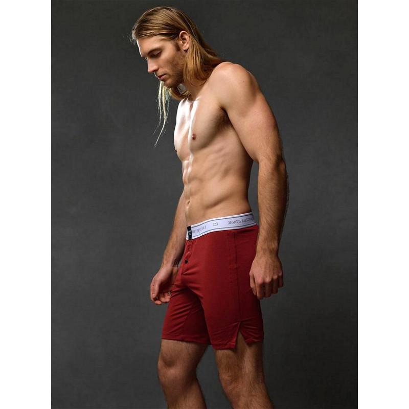 2Eros Core Series 2 Lounge Shorts Underwear Cabernet (T6133)