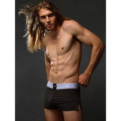 2Eros Core Series 2 Boxer Shorts Underwear Charcoal (T6128)