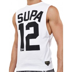 Supawear Team Supa Tank Top White (T3247)
