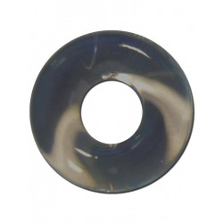 RudeRider Fat Stretchy Cock Ring Smoke (T6154)
