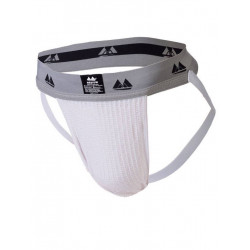 MM The Original Jockstrap Underwear White/Grey 2 inch